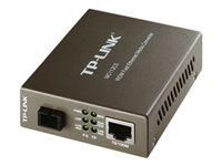 TP-LINK MC112CS - convertisseur de média à fibre optique - Ethernet, Fast Ethernet