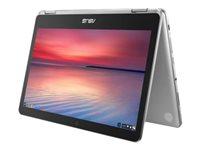 "ASUS Chromebook Flip C302CA DHM4 - Core m3 6Y30 / 900 MHz - Chrome OS - 4 GB RAM - 64 GB eMMC - 12.5"" touchscreen 1920 x 1080 (Full HD) - HD Graphics 515 - 802.11ac - metallic gray"