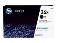 HP 26X - à rendement élevé - noir - originale - LaserJet - cartouche de toner ( CF226X )