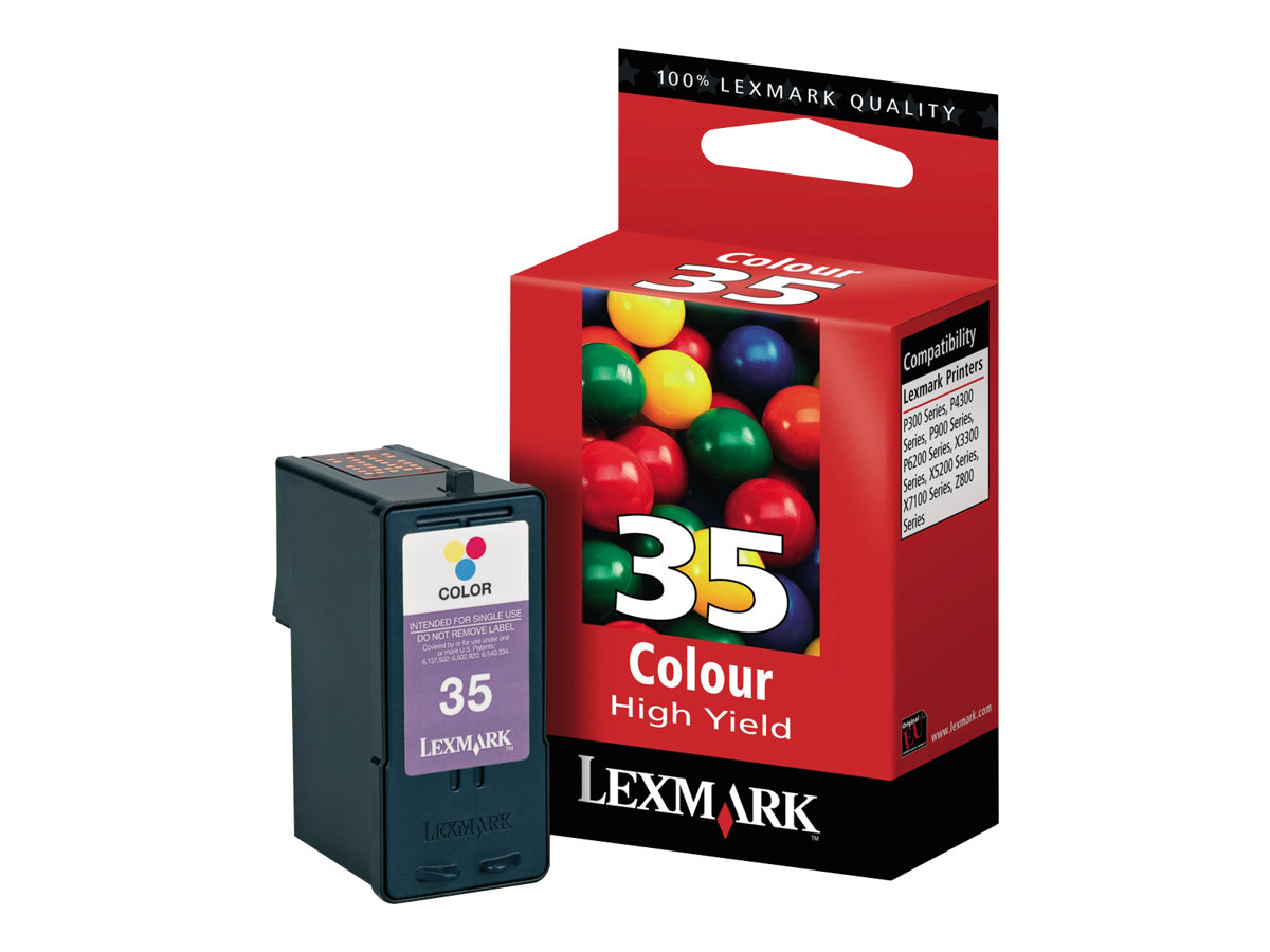 Lexmark - à rendement élevé - couleur (cyan, magenta, jaune) - originale - cartouche d'encre