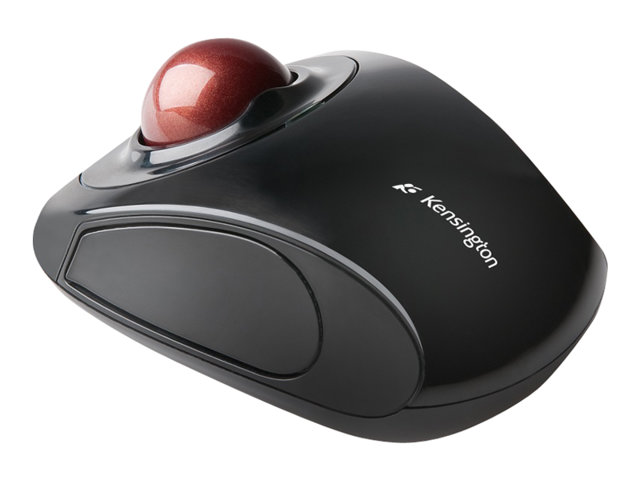 Image of Kensington Advance Fit Wireless Mobile Trackball - mouse