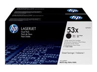 HP  53X Dual PackQ7553XD