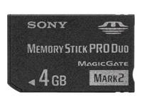 Sony Flashhukommelseskort 4 GB Memory Stick PRO Duo Mark2 for P!nk PSP