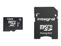 Integral Europe Cartes mémoires INMSDX128G10-80SPTAB
