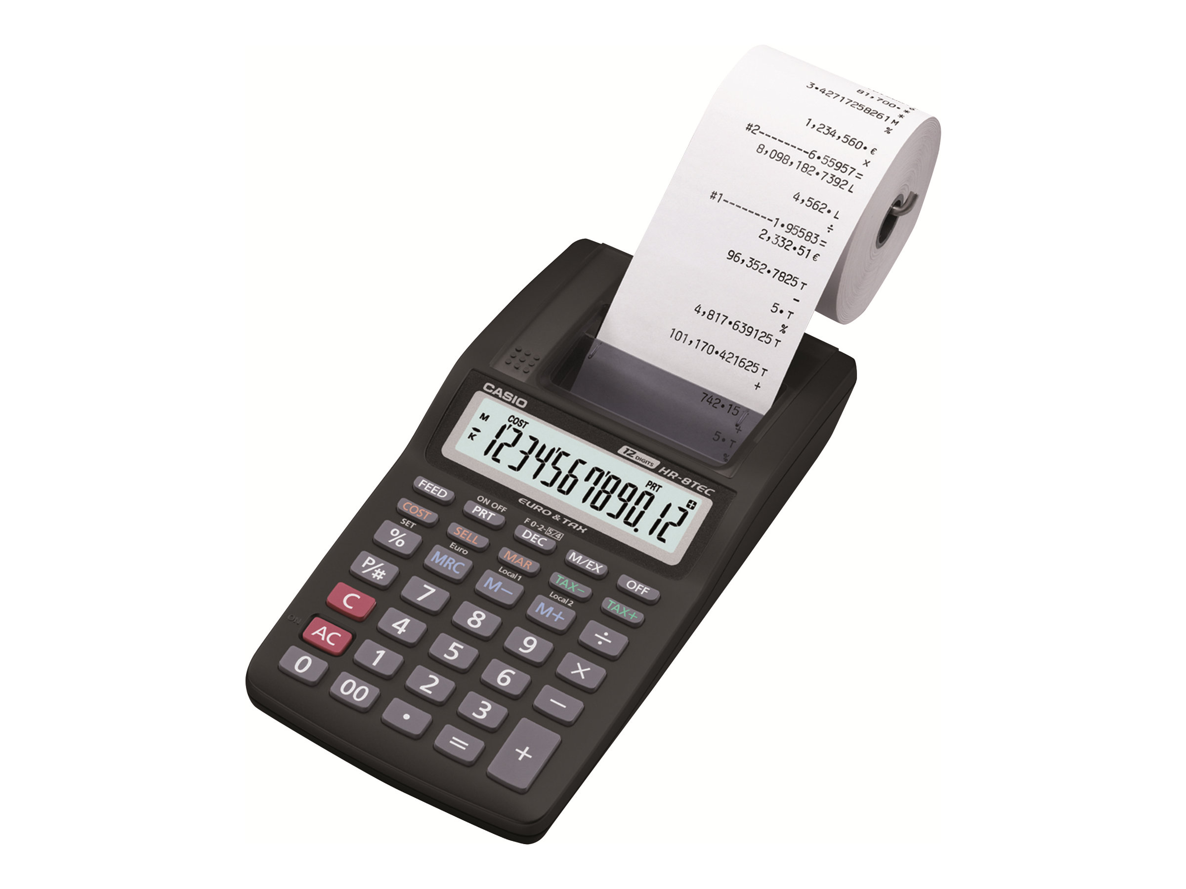 Casio HR-8TEC - calculatrice avec imprimante