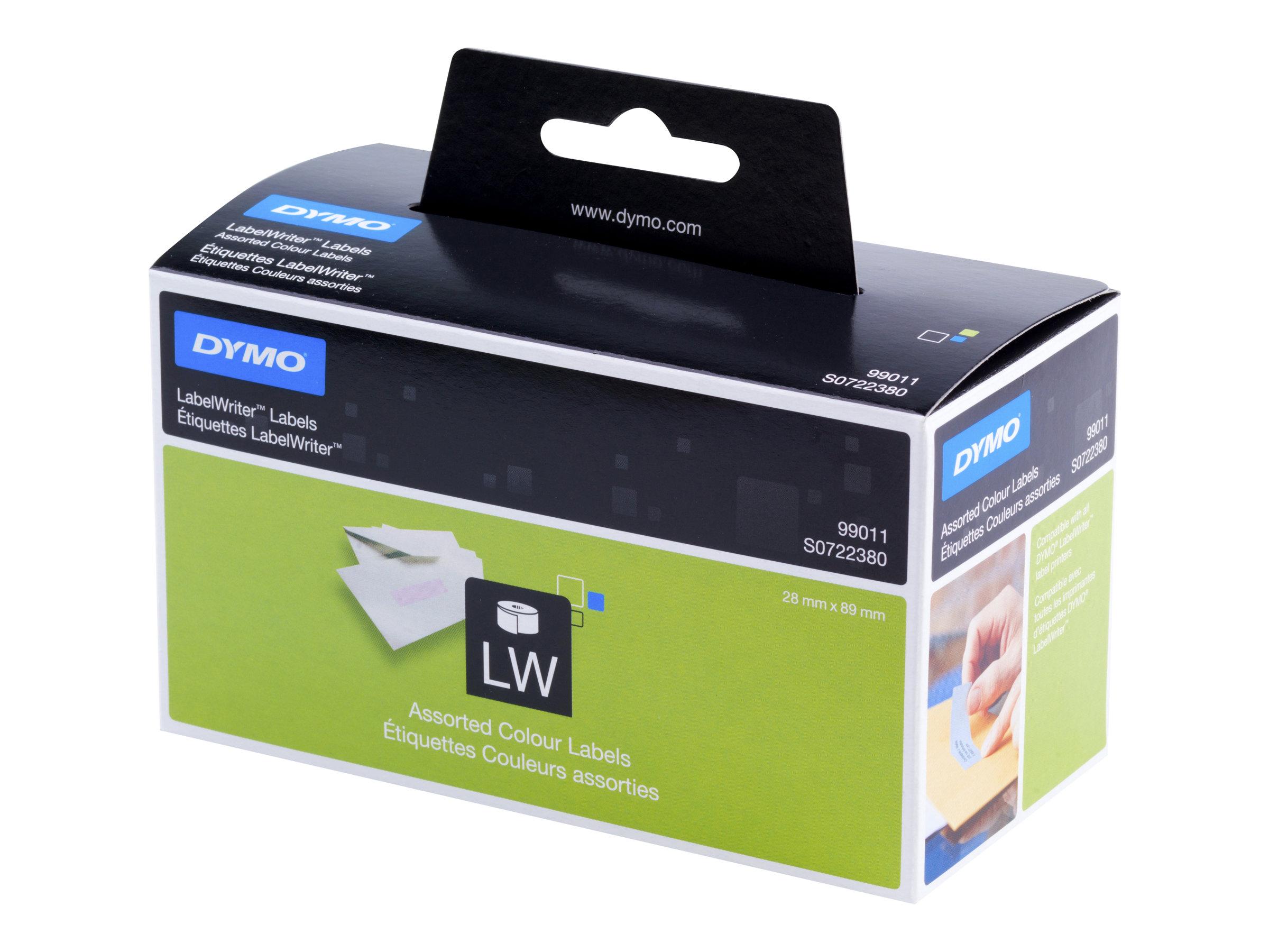 DYMO LabelWriter - Étiquettes d'adresse autocollantes permanentes - 520 étiquette(s)