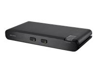Belkin Advanced Secure DVI-I KVM Switch - commutateur écran-clavier-souris/audio - 2 ports - Ordinateur de bureau
