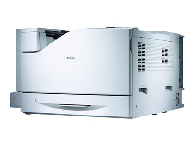 Dell Color Laser Printer 7130cdn - Printer - color - Duplex - laser - A4/Legal - up to 35 ppm - capacity: 700 sheets - USB, Gigabit LAN