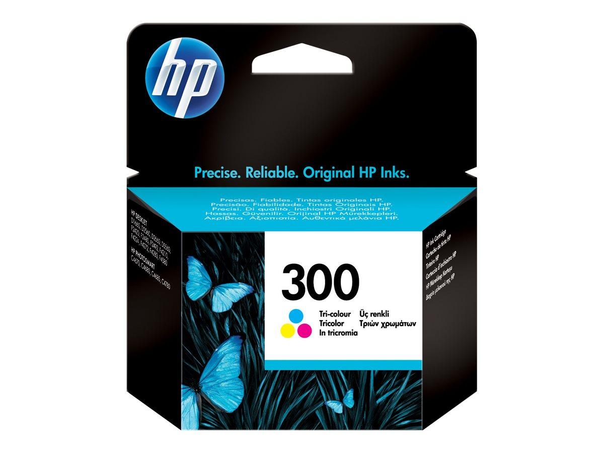 HP 300 - couleur (cyan, magenta, jaune) - originale - cartouche d'encre