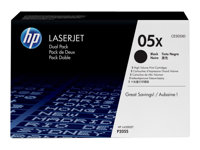 HP 05X Dual Pack