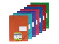 ELBA School Life - Porte vues - 80 vues - A4 - couleurs assorties