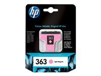 HP 363 Light Magenta Ink Cartridge 5.5 ml, HP 363 Light Magenta