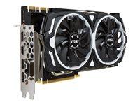 MSI, GeForce GTX 1070 ARMOR 8G OC