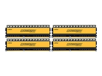 Ballistix Tactical - DDR3 - 16 Go : 4 x 4 Go - DIMM 240 broches