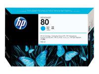 HP Cartucho de tinta Cian (nº80)C4846A