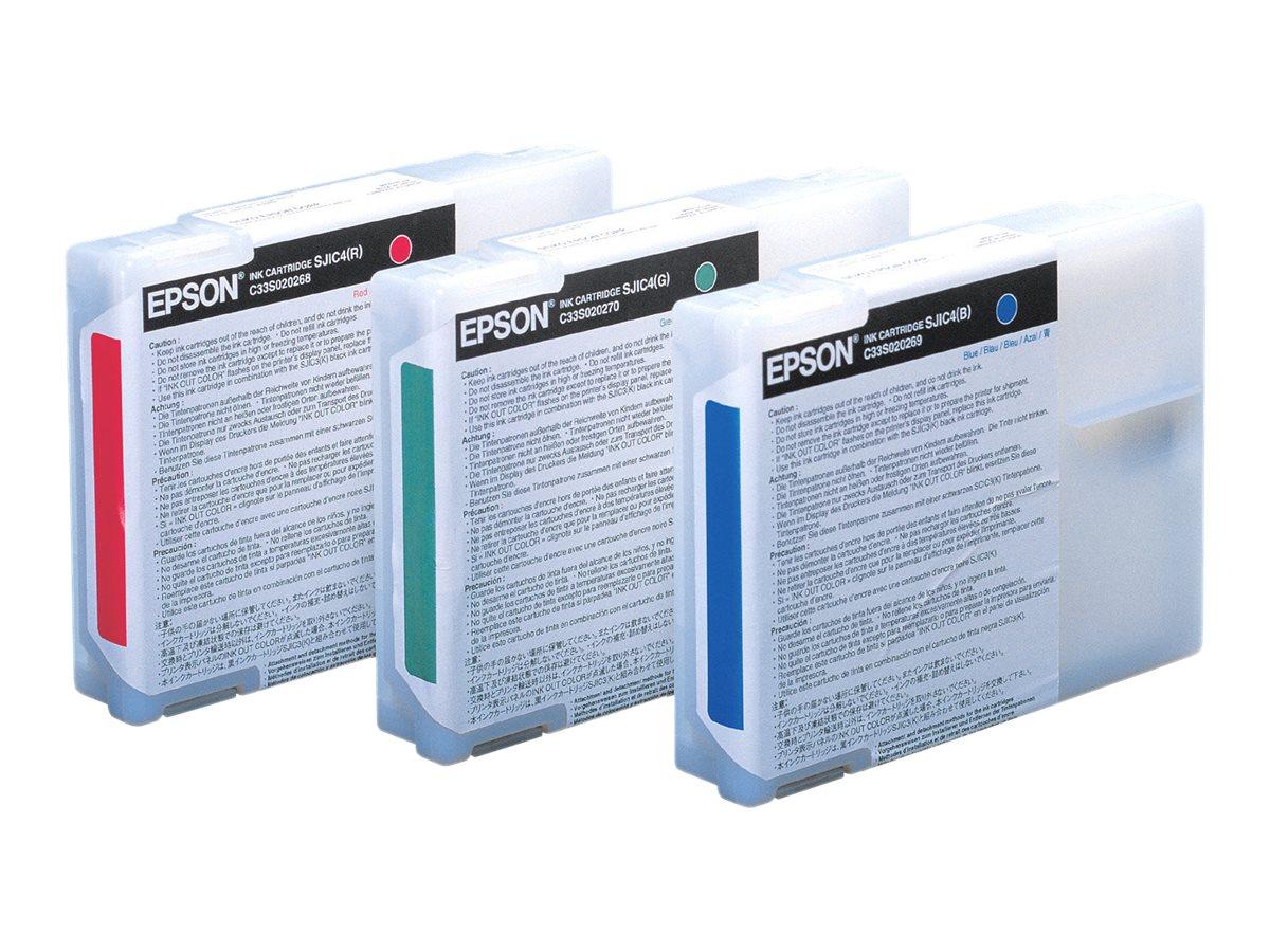 Epson SJIC4 - rouge - originale - cartouche d'encre