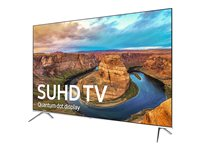 "Samsung UN55KS8000F - 55"" Class (54.6"" viewable) - KS8000 Series LED TV - Smart TV - 4K SUHD (2160p) - HDR - edge-lit, local dimming, Quantum Dot technology, UHD dimming"
