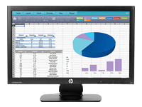 HP ProDisplay P202 - écran LED - 20""