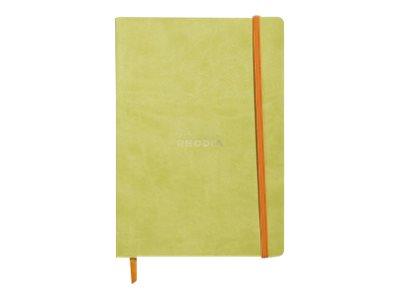 RHODIA Rhodiarama - Cahier - A5 - 160 pages - papier ivoire - gradué - différents coloris