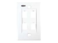 Nexxt - Wall plate - white