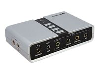 StarTech.com 7.1 USB Audio Adapter Sound Card with SPDIF Digital Audio
