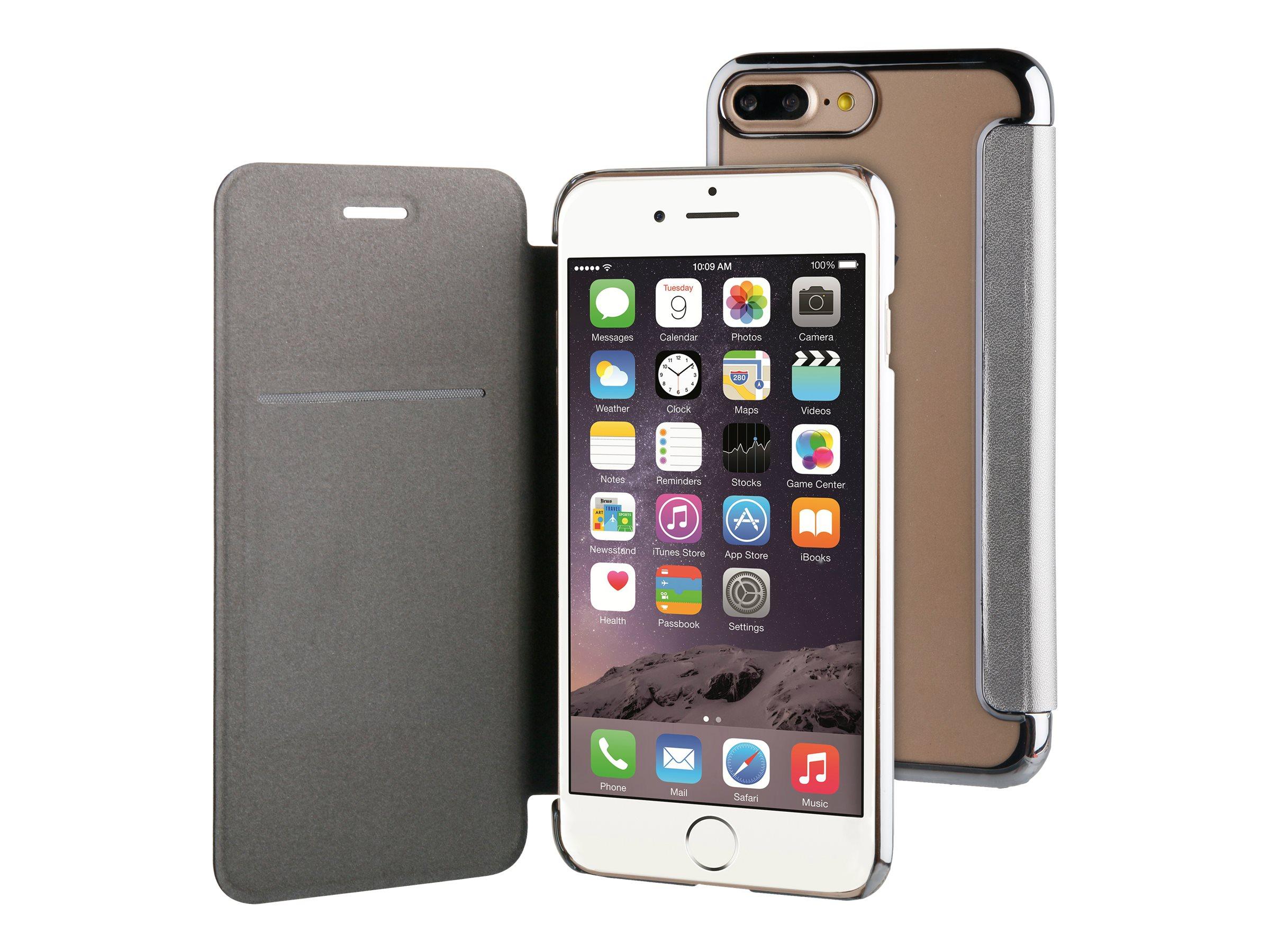 MUVIT LIFE Folio protection à rabat pour téléphone portable