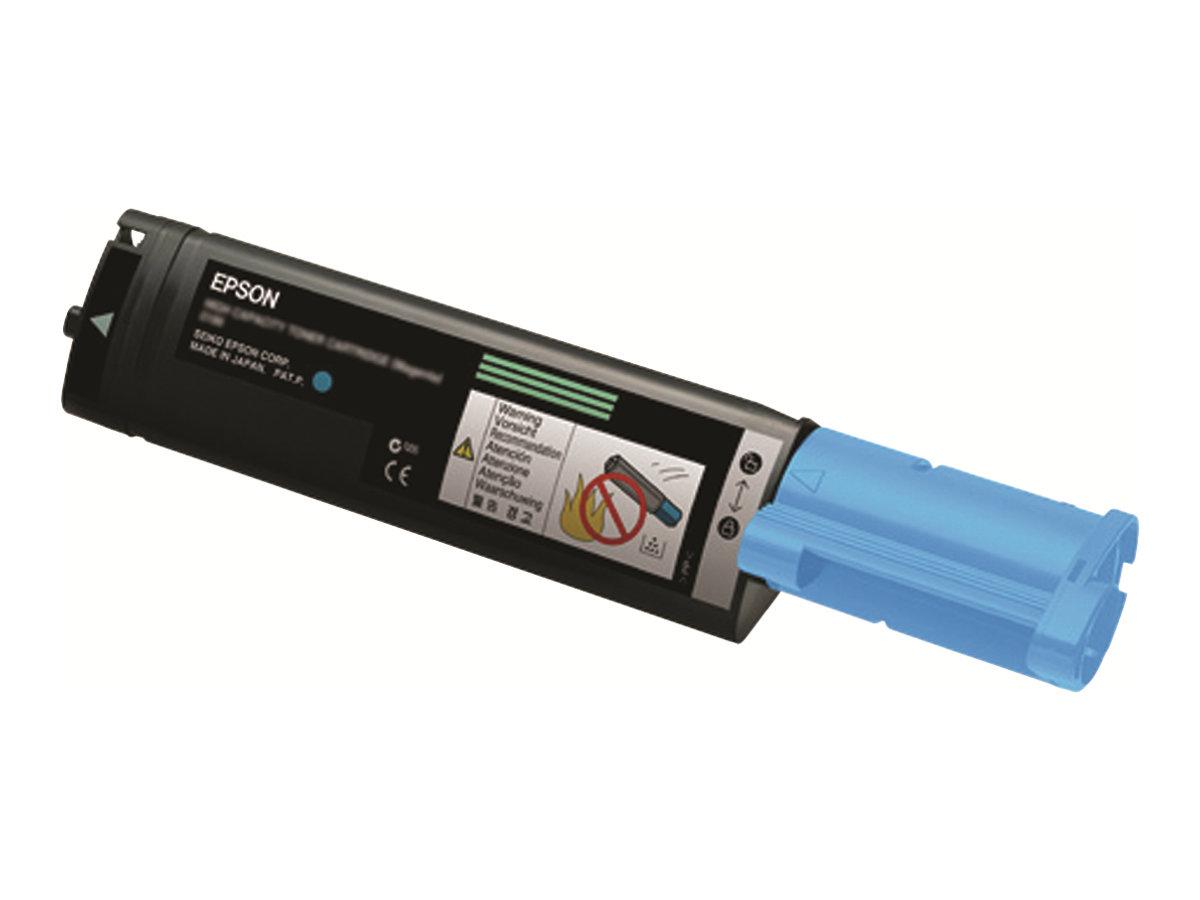 Epson 0189 - haute capacité - cyan - originale - cartouche de toner