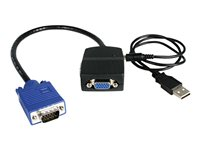 STARTECH - AUDIO VIDEO StarTech.com 2 Port VGA Video SplitterST122LE