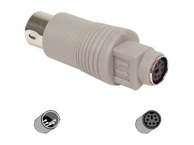 Belkin Pro Series Reverse Keyboard Adapter Keyboard adapter - 5 pin DIN (M) to PS/2 (F) - molded - Keyboard adapter - 5 pin DIN (M) to PS/2 (F) - molded