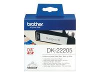 Brother DK-22205 Sort på hvid