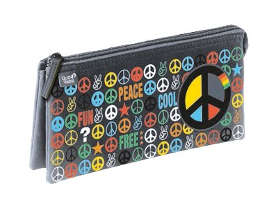 Quo Vadis Love&Peace - Trousse - polyester 300D