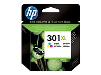 HP 301XL Tri-color Ink Cartridge, HP 301XL Tri-color Ink Cartrid