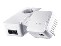 Devolo dLAN 550 WiFi - Starter Kit - pont - 802.11b/g/n - Branchement mural
