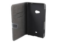 Insmat Exclusive Beskyttelsescover til mobiltelefon læder sort