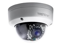 TRENDnet Outdoor 1.3MP HD PoE Dome IR Network Camera
