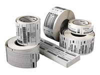Intermec Duratherm III - Paper - permanent adhesive - top coated - perforated - 1 in x 3 in 10808 label(s) (4 roll(s) x 2702) labels Made to Order - for Honeywell PC42, PC43, PD43; Intermec PC41, PC43, PD43, PF8t; EasyCoder PC4, PC41