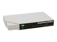 Digi AnywhereUSB /5 with Multi-Host Connections Terminalserver