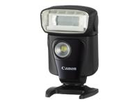 Canon Speedlite 320EX - Hot-shoe clip-on flash - 32 (m) - for EOS 1300, 5D, 77, 80, 800, 9000, Kiss X80, Kiss X9i, Rebel T6, Rebel T7i; PowerShot G1