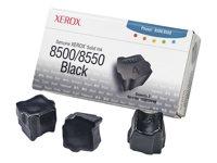 XEROX Tinta s�lida Negra (Pack 3) (3.000 p�ginas)108R00668