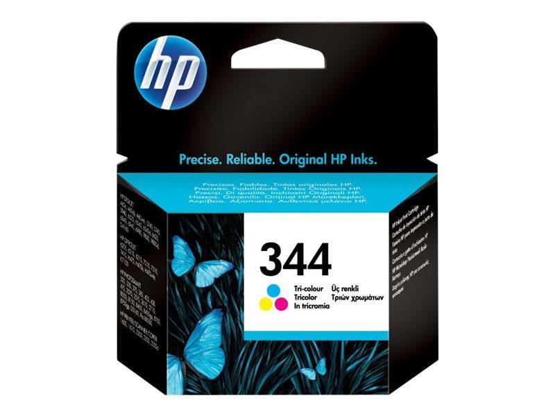 HP 344 - couleur (cyan, magenta, jaune) - originale - cartouche d'encre