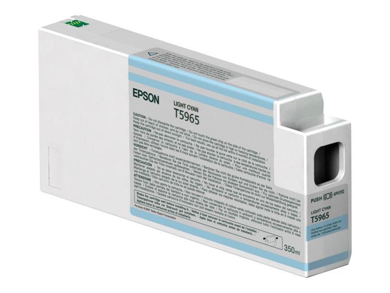 Epson - T5965 - 350 ml - cyan clair - originale - cartouche d'encre