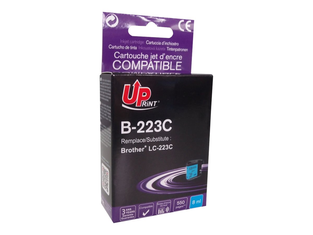 Brother LC223 compatible Uprint - cyan - cartouche d'encre