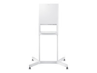 Samsung Flip Stand STN-WM55H - Stand for interactive flat panel / LCD display - light gray - screen size: 55