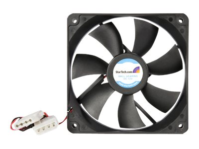 Image of StarTech.com 120x25mm Dual Ball Bearing Computer Case Fan w/ LP4 Connector - system fan kit
