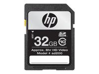 HP   flash memory card   32 GB   SDHC