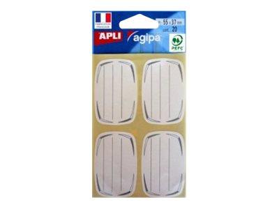 APLI-Agipa - étiquettes scolaires - 20 étiquette(s)