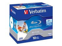 Verbatim - BD-R DL x 10 - 50 Go - support de stockage