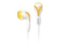 Creative EP-430 Øreproptelefoner i øret 3.5 mm plug gul