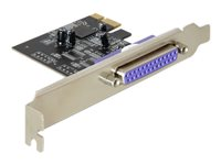 DeLock PCI Express Card 1 x Parallel Parallel adapter PCIe lav profil