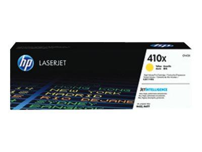 HP 410X - à rendement élevé - jaune - originale - LaserJet - cartouche de toner ( CF412X )